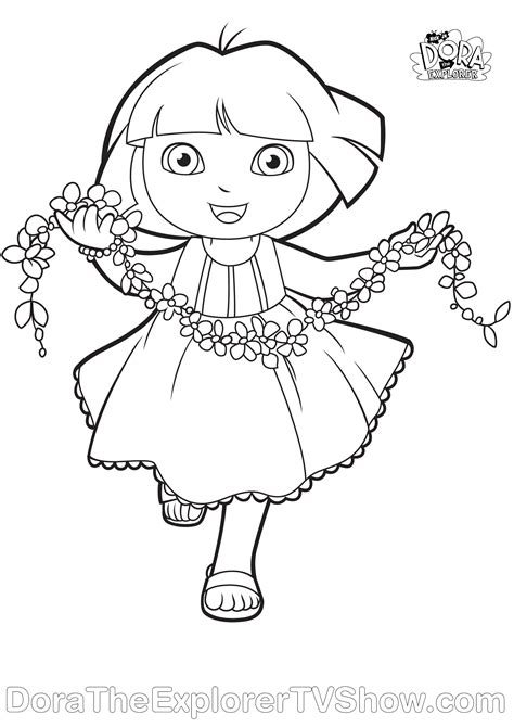 coloring page of dora dora coloring page v 228 rityskuva coloring pages