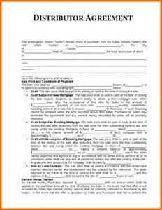 distributorship agreement template commercial sales quote template autos post