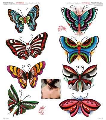 Idea Tattoo 207 Aprile 2016 School Butterfly Tattoos