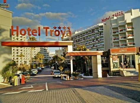hotel entradas entrada hotel picture of hotel troya playa de las