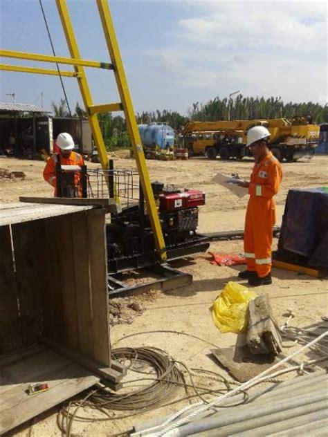Bor Strauss Pile pt bumi indonesia jasa layanan konsultan dan kontraktor jasa topography sondir cpt bor spt