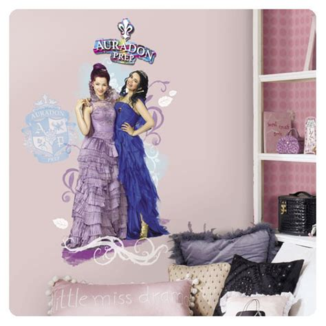 Transformers Wall Stickers descendants mal and evie peel and stick wall graphic