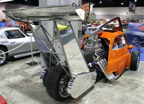 wheels racer micro car 1959 bmw isetta custom drag race car