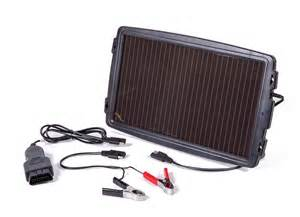 Image of aa car battery solar charger