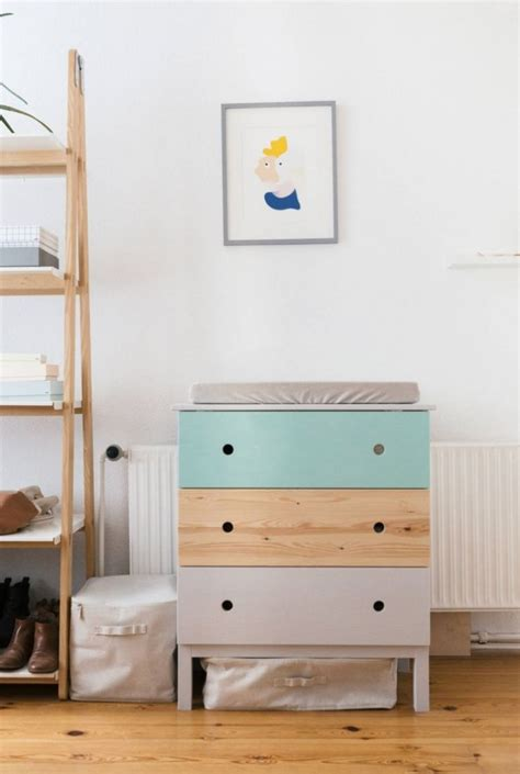 ba changing table and dresser ikea hackers ikea hackers hacks in the nursery mommo design