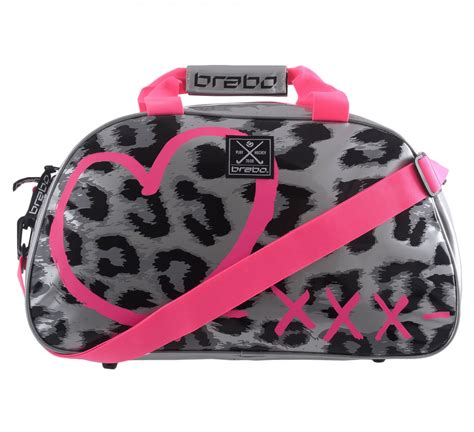 Tas Cheetah brabo shoulderbag cheetah tassen hockey sporten
