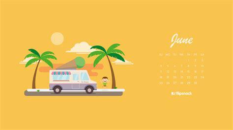 june  calendar wallpaper  desktop background
