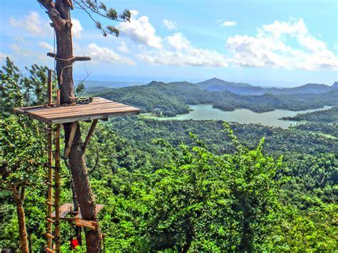 wisata alam kalibiru  keindahan alam  mirip