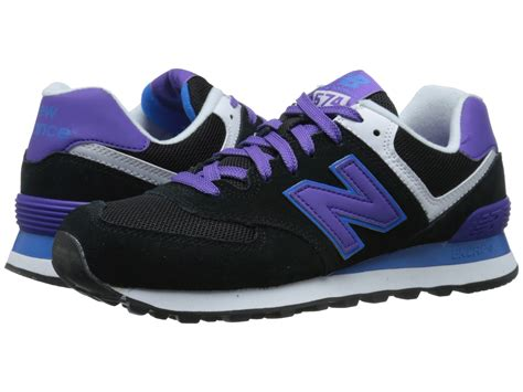 Jual New Balance 574 Black new balance 574 plus in purple black purple lyst