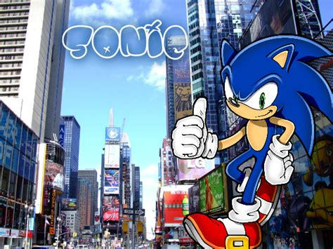 sonic new york sonic in new york city by sonamy115 on deviantart