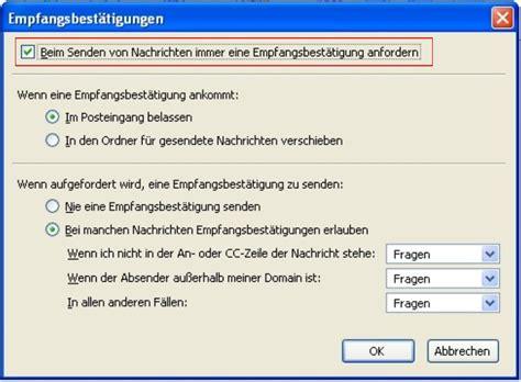 Hochschulstart Bewerbung Nicht Angezeigt Thunderbird E Mail Empfangsbest 228 Tigung Anfordern Office
