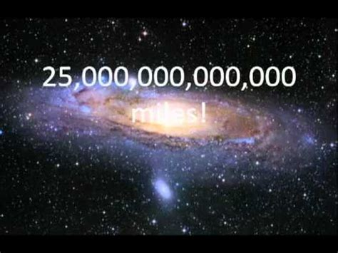 how big is a how big is the universe youtube