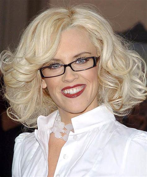 formal hairstyles with glasses jenny mccarthy medium wavy formal hairstyle