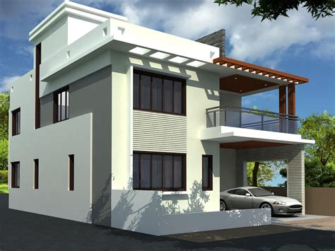 Duplex Homes online house plan designer with contemporary duplex house
