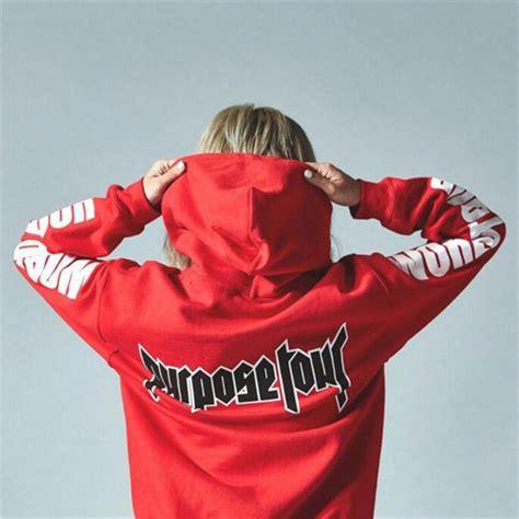 Hoodie Purpose Tour Justin Bieber Japan purpose tour goods catalog chinaprices net