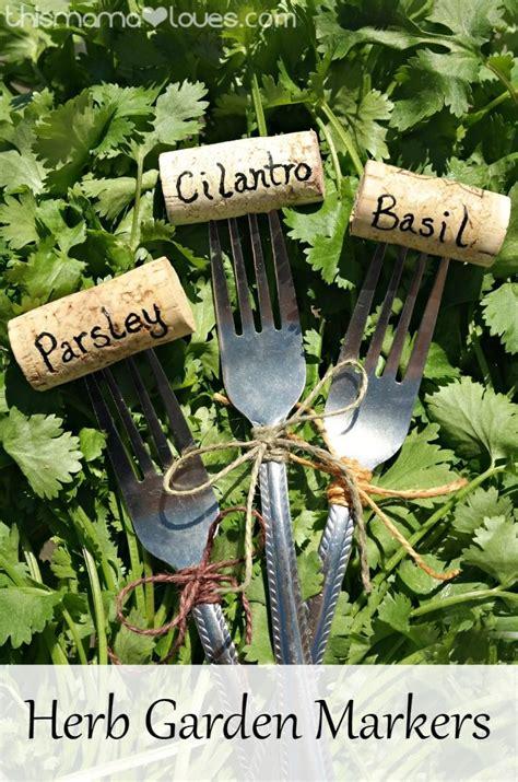 herb garden ashwiniahujaonline s weblog las 25 mejores ideas sobre marcadores de plantas en