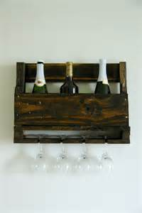 Pallett Wine Rack by Diy Wall Mounted Wine Racks Made Of Pallets