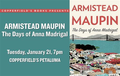 Pdf Days Madrigal Novel Tales by Tales Of The City Author Armistead Maupin Brings His New