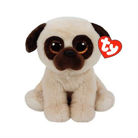 beanie baby pug 42181 rufus pug beanie baby ty 32301 soft toys rosefields