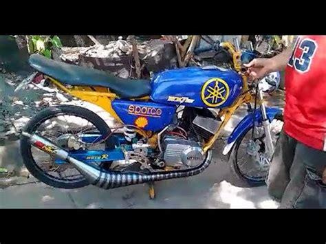 Kaos Racing Yamaha Rx King 135cc yamaha rx 135 modified exhaust funnydog tv