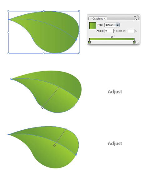 vector leaf tutorial creating an environmentally friendly green type treatment