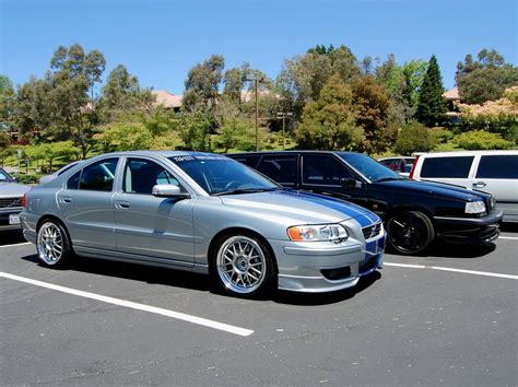 silver volvo s60r silver and blue volvo s60r by partywave on deviantart