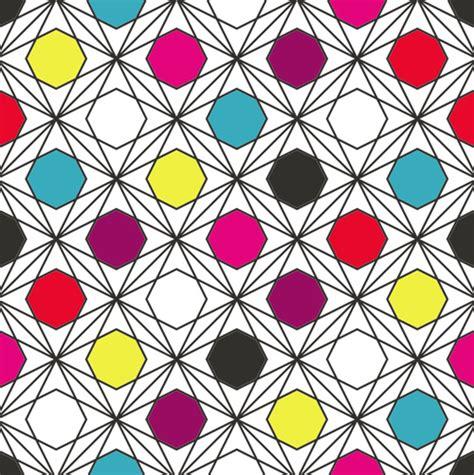 pattern in creative art creative hexagon seamless pattern vector free vector in