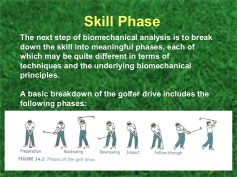 golf swing broken down into steps biomechanics and golf