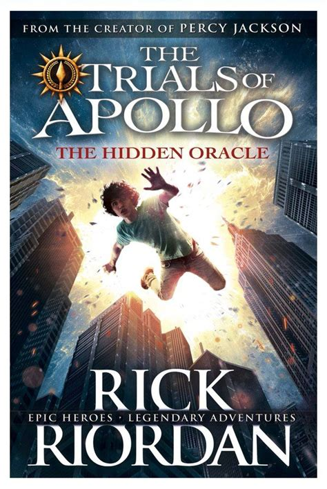 The Trials Of Apollo 2 The Prophecy Rick Riordan rick riordan no se detiene segundo libro de trials of apollo