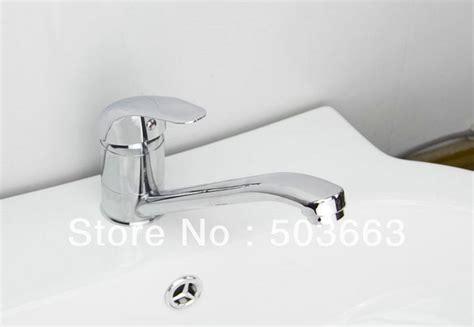 bathroom basin taps single hole single hole bathroom basin swivel faucet brass mixer taps