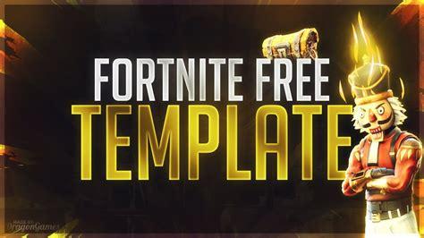 fortnite free fortnite free thumbnail template