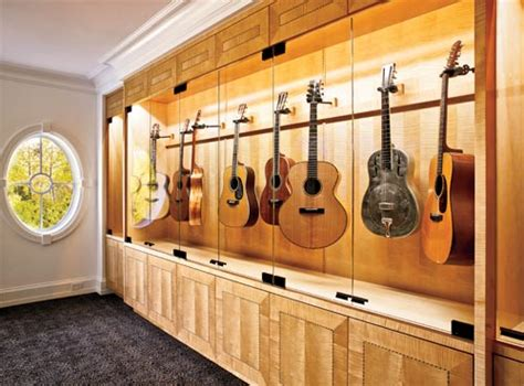Guitar Room Ideas by Guitars Display