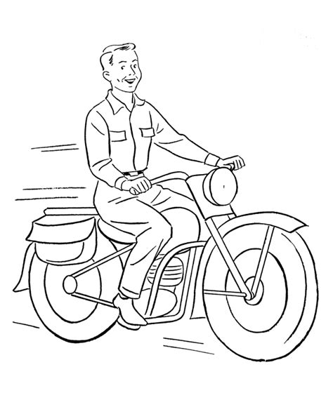 coloring pages of cars and motorcycles motorcycle color pages coloring home