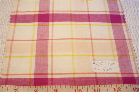 Patchwork Plaid - madras plaid indian madras plaid fabric patchwork