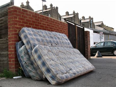How To Dispose Of Mattress With Bed Bugs by Junk Removal Aid Tips For Bulk Trash