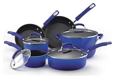 Canister Sets Kitchen by Rachael Ray 10 Piece Cookware Set Review