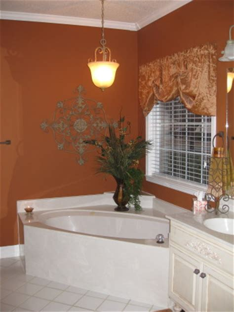 burnt orange bathroom information about rate my space questions for hgtv com