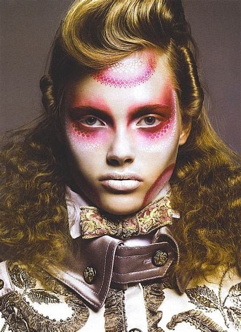 beauty garde avant garde makeup look makeup pinterest