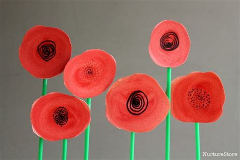 remembrance day crafts for poppy wreath remembrance day craft for children nurturestore