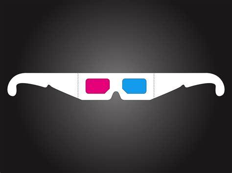 glasses vector 3d glasses vector