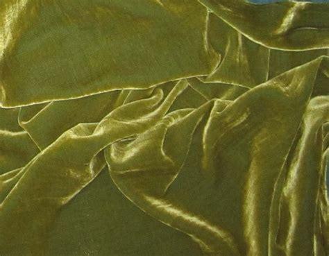 silk velvet upholstery fabric yellow green silk velvet fabric fat 1 4
