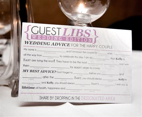 guest libs wedding guestbook vip magazine
