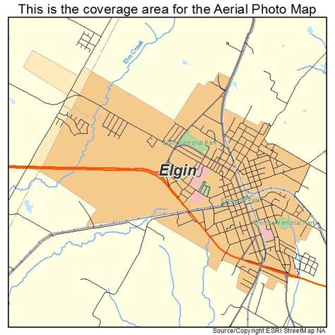 elgin texas map aerial photography map of elgin tx texas