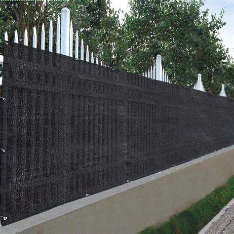 Sichtschutz Stoff Zaun by 25x4ft 90 Privacy Fence Screen Outdoor Garden Yard 300