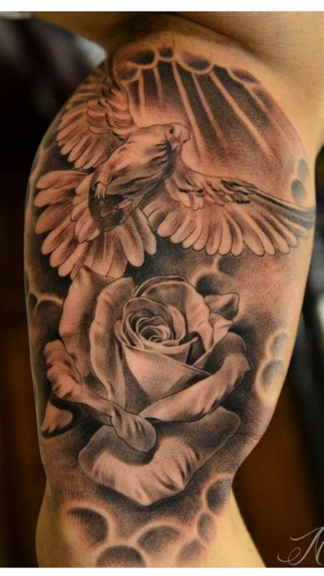 dove and rose tattoo 109 best images about tattoos piercings on