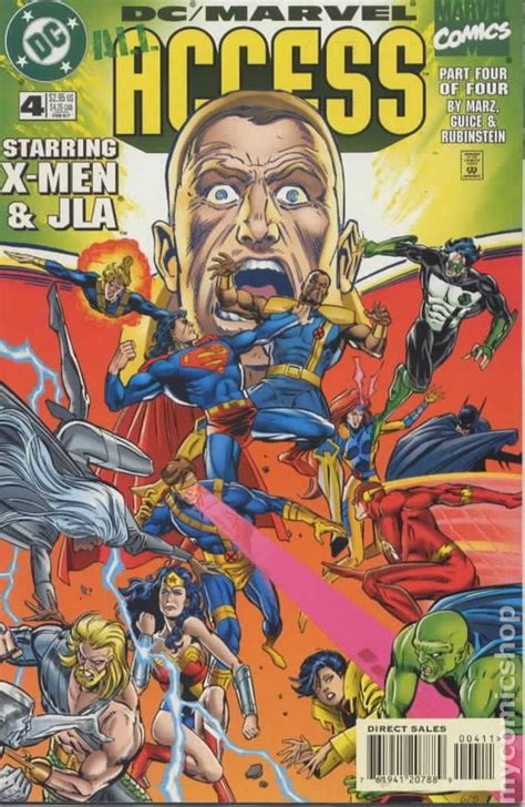all marvel dc marvel all access 1996 comic books