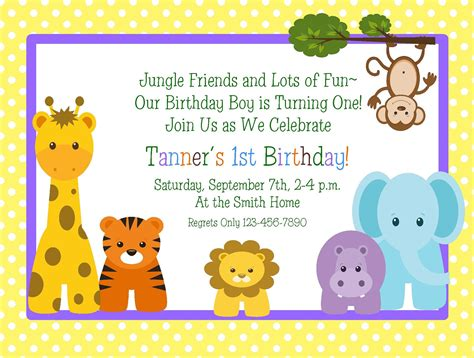 invitations first birthday invitation wordings in