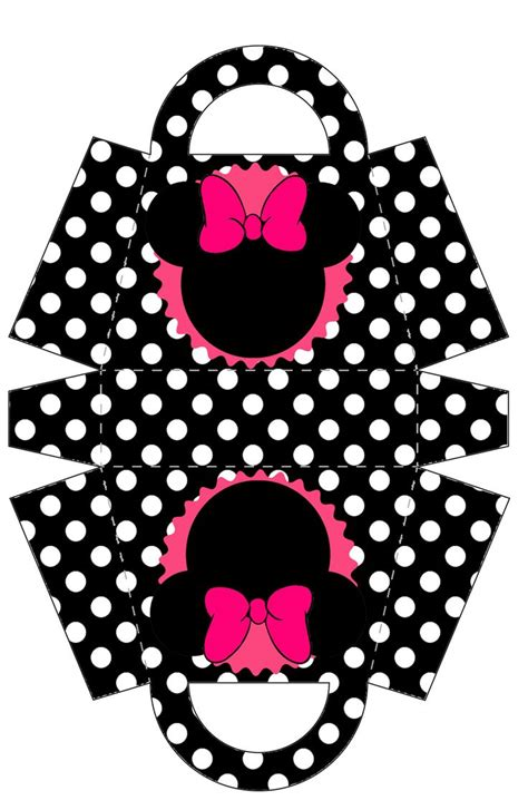 template minnie mouse birthday printables pinterest