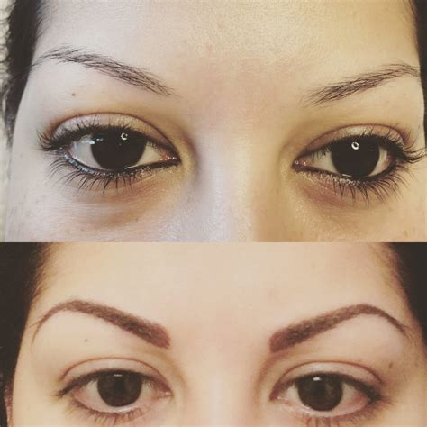 tattoo eyeliner san antonio before and after microblading eyebrows yelp
