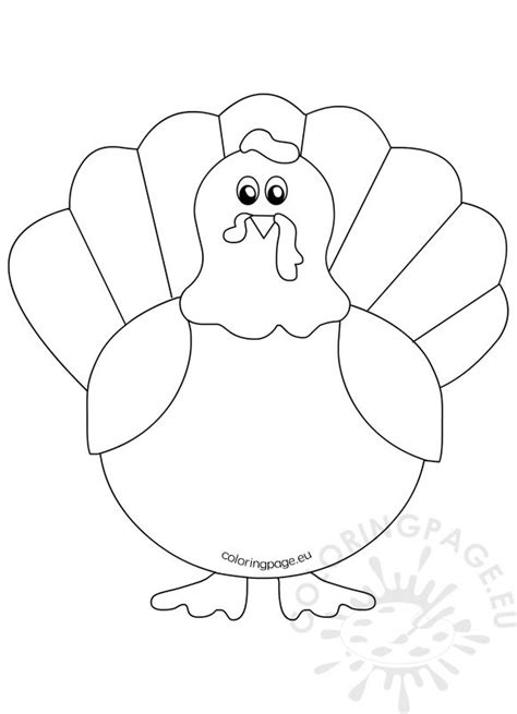 turkey cut out coloring pages coloring pages